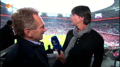 Joachim Löw pre-match interview –Bayern v Atletico 15-16 1
