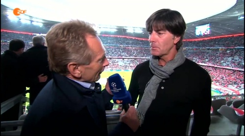 Joachim Löw pre-match interview –Bayern v Atletico 15-16 2