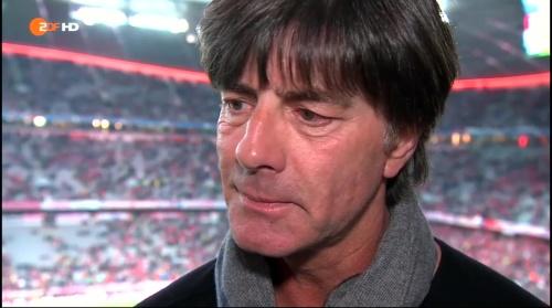 Joachim Löw pre-match interview –Bayern v Atletico 15-16 3