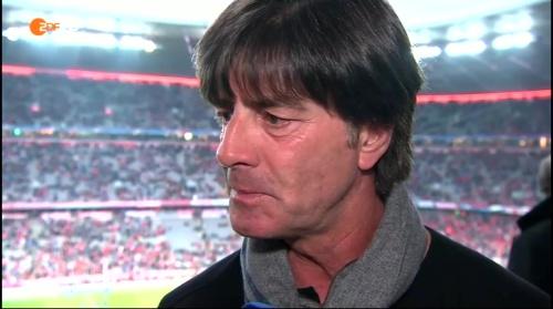 Joachim Löw pre-match interview –Bayern v Atletico 15-16 4