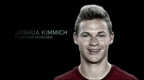 Joshua Kimmich - EM 2016 Kader