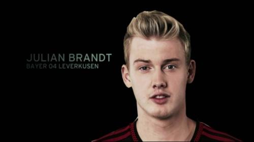 Julian Brandt - EM 2016 Kader