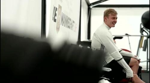 Julian Brandt - Regeneration nach dem Slowakei Spiel 1