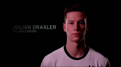 Julian Draxler - EM 2016 Kader