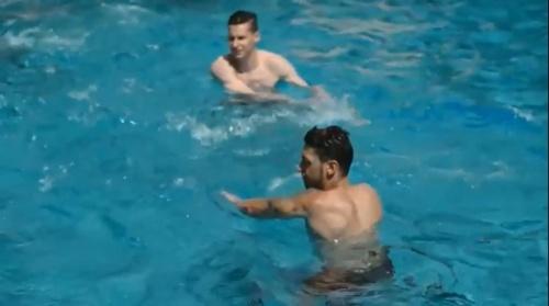 Julian Draxler & Mesut Özil – Der Tag in Ascona 27-05-16 2