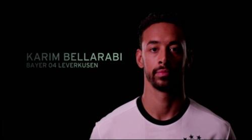 Karim Bellarabi - EM 2016 Kader