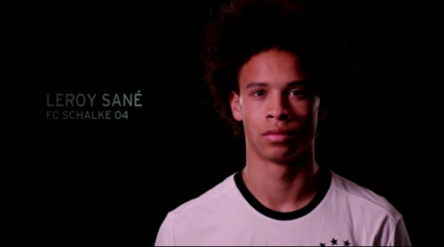 Leroy Sane - EM 2016 Kader