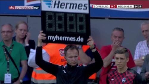 Lucas Hufnagel - SC Freiburg v Heidenheim 1