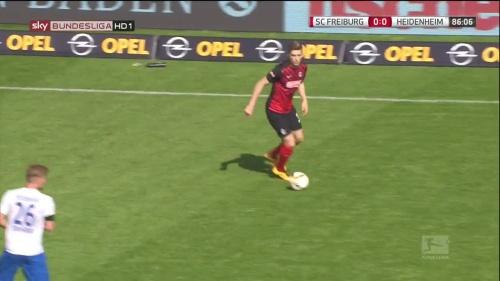 Lucas Hufnagel - SC Freiburg v Heidenheim 2