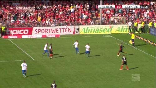 Lucas Hufnagel - SC Freiburg v Heidenheim 3