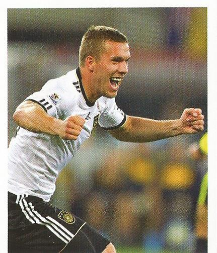 Lukas Podolski – die Nationalmannschaft 2012 sticker