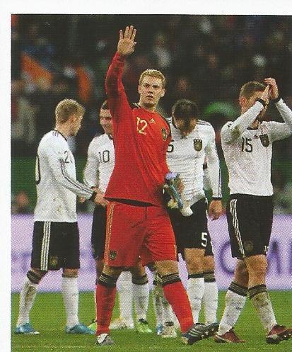 Manuel Neuer - Deutsche Nationalmannschaft 2010 sticker