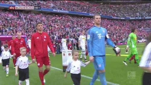 Manuel Neuer – Bayern v Gladbach 2