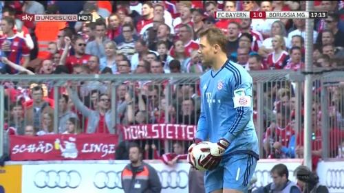 Manuel Neuer – Bayern v Gladbach 9