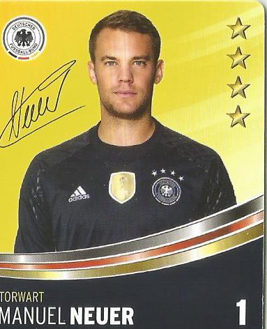 Manuel Neuer – DFB card 2016