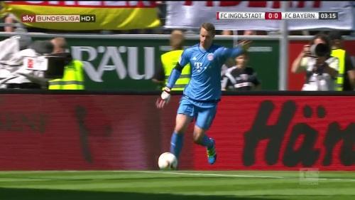 Manuel Neuer – Ingolstadt v Bayern 3