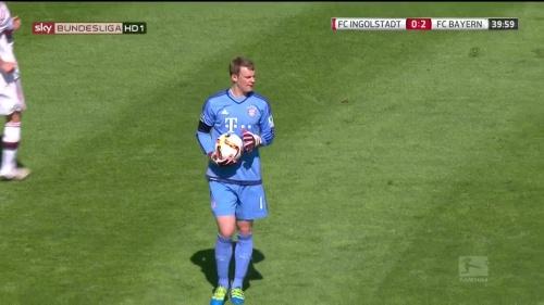 Manuel Neuer – Ingolstadt v Bayern 5
