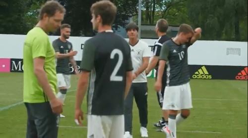 Marcus Sorg & Joachim Löw – DFB team v U20 team 1