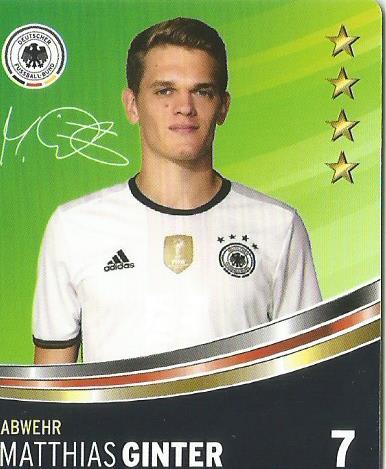 Matthias Ginter – DFB card 2016