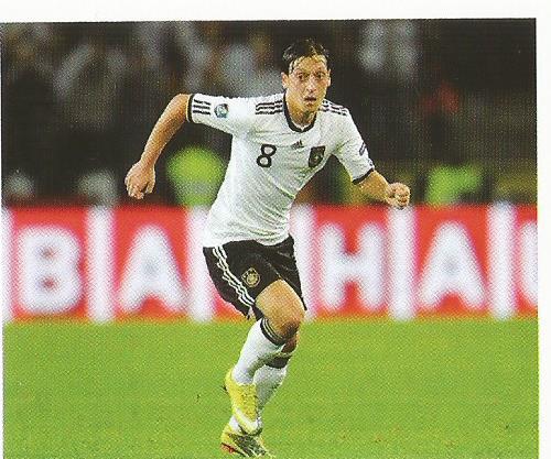 Mesut Özil – die Nationalmannschaft 2012 sticker