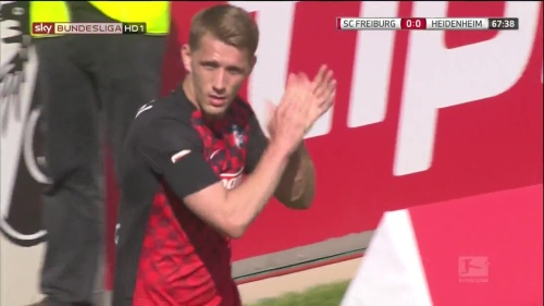Nils Petersen – SC Freiburg v Heidenehim 2