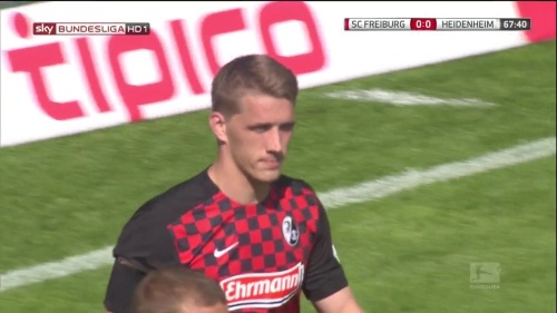 Nils Petersen – SC Freiburg v Heidenehim 3