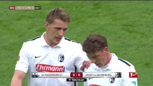 Nils Petersen & Mike Frantz – Paderborn v Freiburg 1