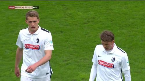 Nils Petersen & Mike Frantz – Paderborn v Freiburg 2