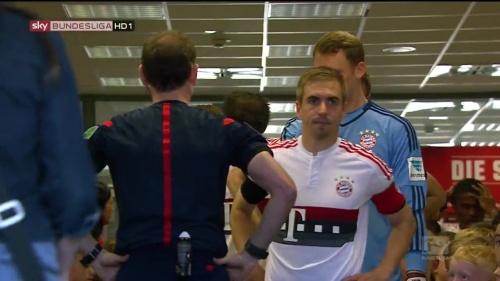 Philipp Lahm – Ingolstadt v Bayern 1