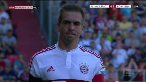 Philipp Lahm – Ingolstadt v Bayern 3