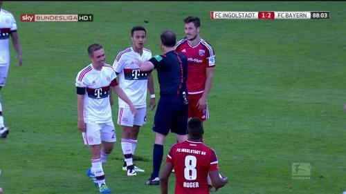 Philipp Lahm – Ingolstadt v Bayern 5