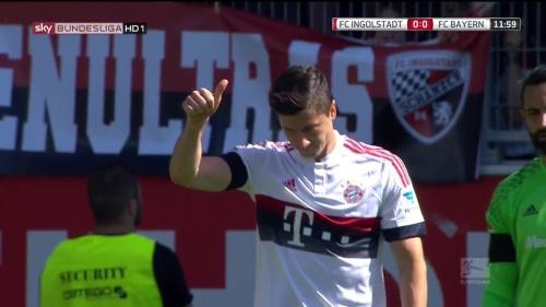 Robert Lewandowkski – Ingolstadt v Bayern 3