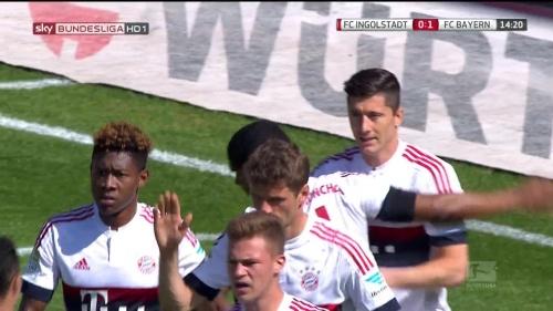 Robert Lewandowkski – Ingolstadt v Bayern 4