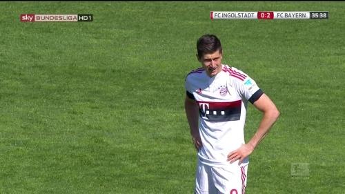 Robert Lewandowkski – Ingolstadt v Bayern 7