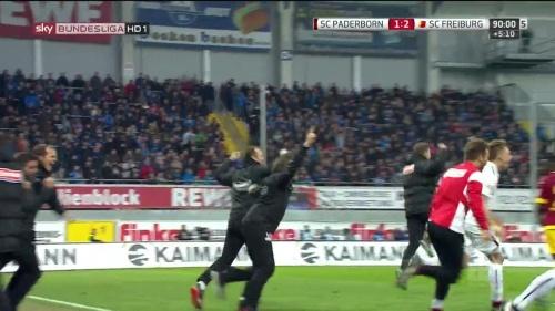 SC Freiburg celebrate promotion 2016 1