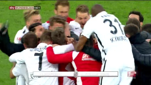 SC Freiburg celebrate promotion 2016 4