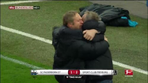 SC Freiburg celebrate promotion 2016 5