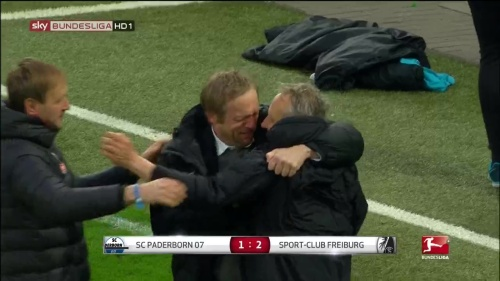 SC Freiburg celebrate promotion 2016 6