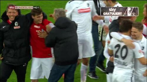 SC Freiburg celebrate promotion 2016 9