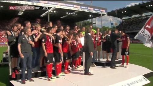 SC Freiburg - Meister der 2.Bundesliga 2015-16 2
