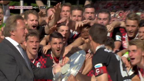 SC Freiburg - Meister der 2.Bundesliga 2015-16 3