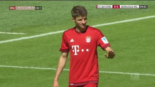 Thomas Müller – Bayern v Gladbach 1
