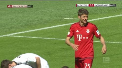 Thomas Müller – Bayern v Gladbach 2