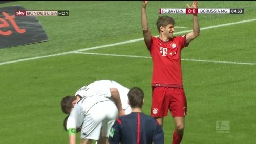 Thomas Müller – Bayern v Gladbach 3
