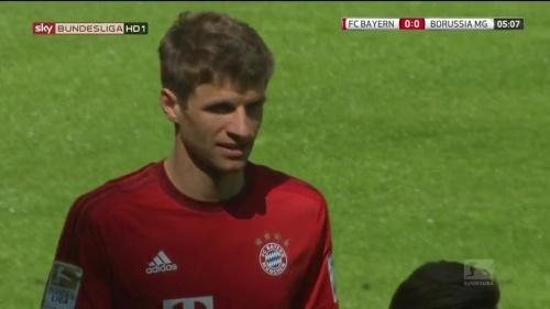 Thomas Müller – Bayern v Gladbach 4