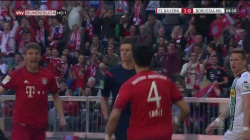 Thomas Müller – Bayern v Gladbach 5