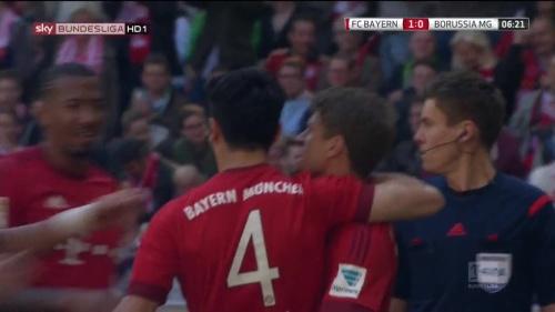 Thomas Müller – Bayern v Gladbach 6