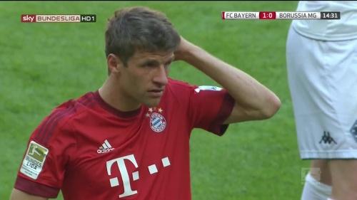 Thomas Müller – Bayern v Gladbach 7