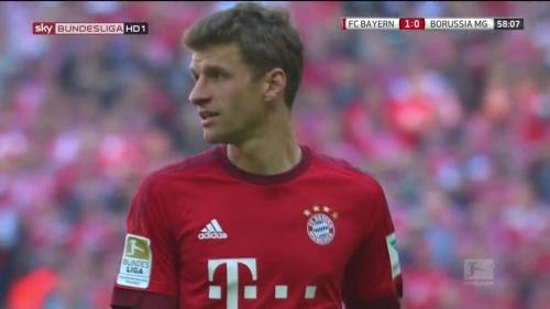 Thomas Müller – Bayern v Gladbach 8