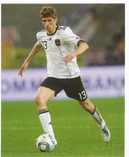 Thomas Müller – die Nationalmannschaft 2012 sticker